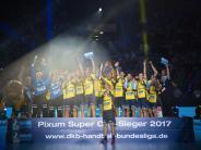 Handball-Supercup: Kiel ärgert sich über verpassten Titel - Löwen feiern