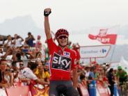 Vuelta-Führung: Das Double reizt: Unangefochtener Froome in Spanien auf Kurs