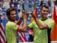 Tennis-Premiere: Rojer/Tecau sichern sich Doppel-Titel bei US Open