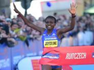 Bestzeit: Jepkosgei bricht 10-Kilometer-Straßenlauf-Weltrekord