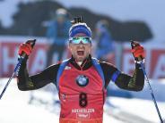 In der Verfolgung: Biathlon: Schempp und Herrmann deutsche Meister