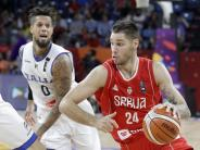 Basketball-EM: Serbien im Halbfinale gegen Russland