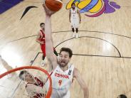 26 Punkte von Pau Gasol: Spanien holt gegen Russland Bronze bei Basketball-EM