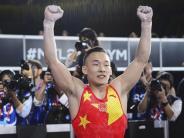 Nachfolger von Uchimura: Chinese Ruoteng neuer Turn-Weltmeister im Mehrkampf