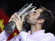 Titelpremiere für Scharapowa: Federer in Shanghai stärker als Nadal