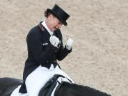Auf Olympia-Stute Weihegold: Isabell Werth siegt beim Dressur-Weltcup in Lyon