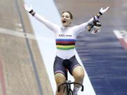 Bahnradsport: Vogel dreifache Siegerin beim Bahn-Weltcup