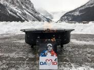 Rennen in Lake Louise: Erste Abfahrt im Olympia-Winter: In Gedenken an Poisson