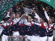 Tennis-Teamwettbewerb: Frankreich gewinnt erstmals seit 16 Jahren Davis-Cup-Titel
