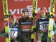 Weltcup in Lillehammer: Starker Start:Althaus und Vogt auf Podest