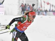 Weltcup in Hochfilzen: Biathlon: Dahlmeier erfüllt halbe Olympia-Norm