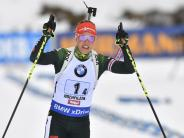 Gold-Hoffnung: Biathletin Dahlmeier glaubt an Aufschwung im Olympia-Winter