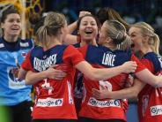 Handball-WMder Frauen: Viertelfinale komplett - DHB-Auswahl Zwölfter