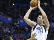 Basketball-Profiliga NBA: Trotz Westbrook-Feuerwerk: Nowitzki und Dallas siegen