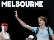 Trost von Federer: Druck für Zverev auch in Australien zu groß