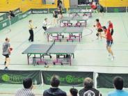 Tischtennis: Doppelte Meisterfeier für Wiedemann und Wojnarowicz