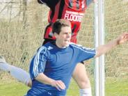 Fußball, Kreisliga Augsburg: Beton anrühren