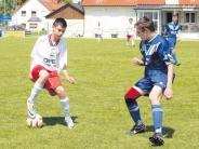 Jugendfußball: Zwei Treffer in drei Minuten