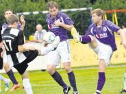 Fußball: Niederlage in letzter Sekunde