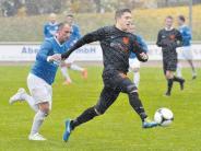 Fußball-Landesliga: Ausrutscher im Schneegestöber
