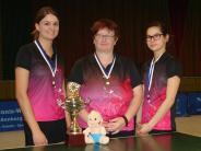 Tischtennis: Riedlingens Damen verteidigen Titel