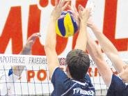 Volleyball: Friedberg will wieder auf Platz drei