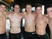 Schwimmen: Schnelle Burschen