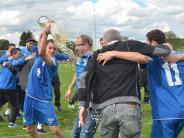 Kreisliga Augsburg: Bierduschen nach dem Sieg
