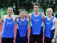 Leichtathletik: Sprinter schnell unterwegs