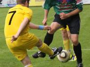 Fußball in der Nachbarschaft: Biberbach kann den Erfolg nicht wiederholen