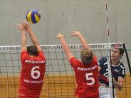"""Volleyball3. Liga: TSV lässt es """"knacken"""""""
