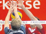 Volleyball: Bedrohlichen Rückstand noch umgebogen