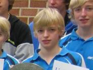 Tischtennis: Gute Jugendarbeit wird bestätigt