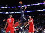Basketball: NBA-Allstar-Spiel der Rekorde - Dirk hält sich zurück