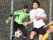 Bezirksliga Nord: Michael Wenni hält die drei Punkte fest