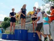 Triathlon: Nur Heidi war schneller