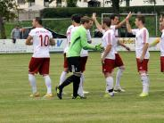 Fußball : Kreisliga Nord: SSV Höchstädt  -  FC Pfaffenhofen-Untere Zusam 0 : 2