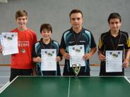 Tischtennis I: Hoffnungsvoller Nachwuchs aus der Region