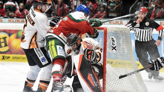 Eishockey: Panther gewinnen enges Spiel