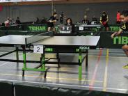 Tischtennis : Bayersiche Meisterschaften: TV Dillingen ist Ausrichter der Meisterschaften
