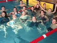 Schwimmen: Die Prämie fließt in die Pizza
