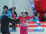 Garmisch: Schöner Schein beim Skispringen