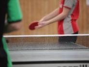 Tischtennis:  Durchwachsener Start in die Rückrunde