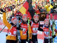 Biathlon WM 2015: Biathlon-WM in Kontiolahti - Neuner glaubt an deutsche Medaillen