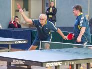 Tischtennis: Ein Kampf um jeden Ball