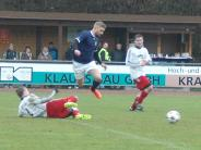 Fußball, Bezirksliga Süd: Zwei Spiele - vier Punkte