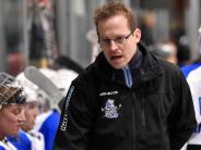 Eishockey: Der Trainer ist optimistisch