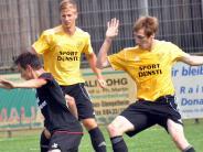 """Fußball aus der Region: """"Bastelarbeiten"""" sind in vollem Gange"""