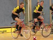 Radball: Ein Tor kostet zwei Plätze