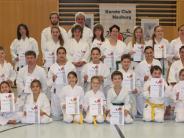 Karate: Erst die Arbeit, dann die Belohnung